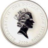 1 доллар 2006, серебро (Ag 925) | Пожарная машина Коммер — Острова Кука, фото 1