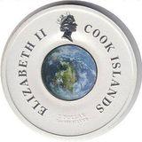 1 доллар 2007, серебро (Ag 925) | Спутник — Острова Кука, фото 1