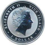 1 доллар 2008, серебро (Ag 925) | Крыса на изобилие — Ниуэ, фото 1