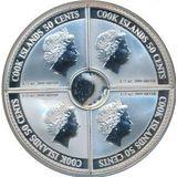 Набор монет Нефть и газ (2 доллара) — Острова Кука, 2006, фото 1