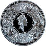 50 долларов 2015, серебро (Ag 925) | Петр I Великий — Ниуэ, фото 1