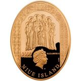 3000 долларов 2010, золото (Au 999) | Царская семья — Ниуэ, фото 1