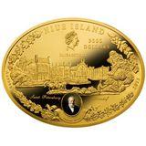 3000 долларов 2013, золото (Au 999) | Царские конюшни — Ниуэ, фото 1