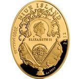 2000 долларов 2012, золото (Au 999) | Яйцо Коронационное — Ниуэ, фото 1