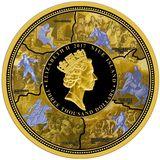 3000 долларов 2017, золото (Au 999) | Петр I Великий — Ниуэ, фото 1