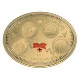 3000 долларов 2012, золото (Au 999) | Царская благотворительность — Ниуэ, фото 1