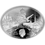 50 долларов 2015, серебро (Ag 925) | Императорская охота — Ниуэ, фото 1