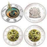 2000 шиллингов 2015, серебро (Ag 925) | Эволюция времени — Танзания, фото 1