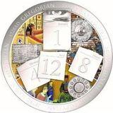 2000 шиллингов 2017, серебро (Ag 925) | Эволюция календаря — Танзания, фото 1