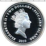 2 доллара 2010, серебро (Ag 925) | Амурский тигр — Питкерн, фото 1