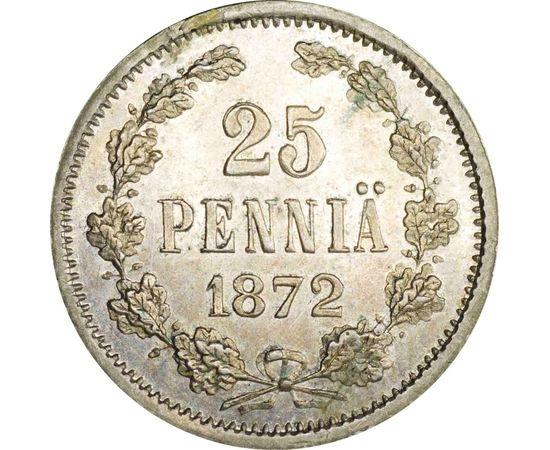 25 пенни 1872 года, фото 2