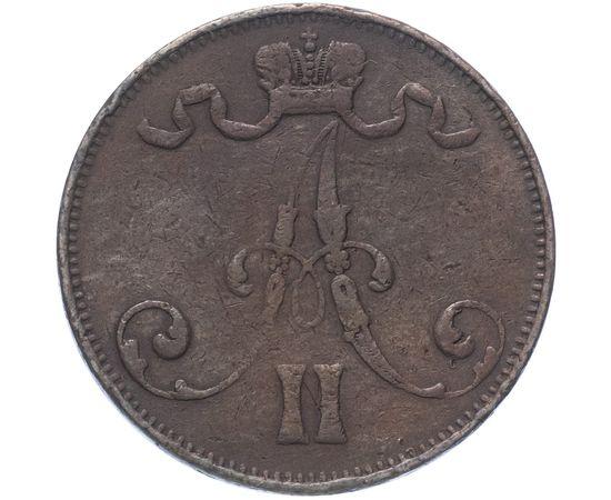 5 пенни 1875 года, фото 2