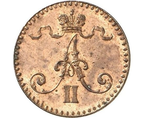 1 пенни 1864 года, фото 2