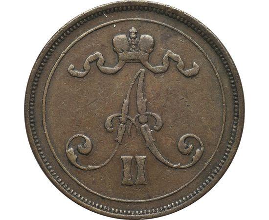 10 пенни 1875 года, фото 2
