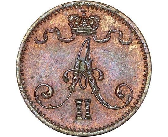 1 пенни 1875 года, фото 2