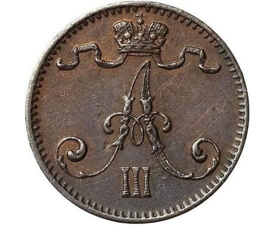 1 пенни 1881 года, фото 3