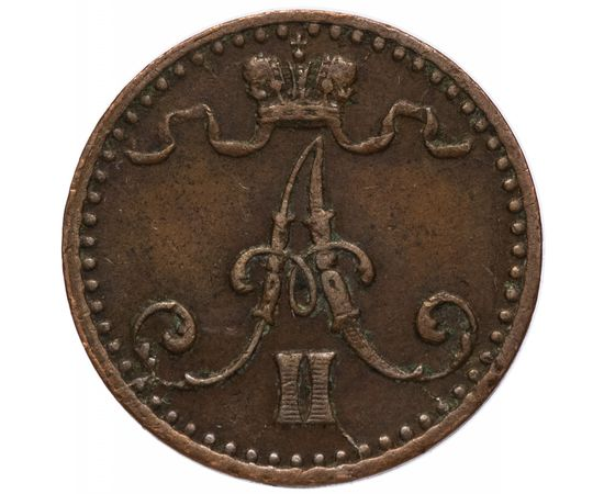1 пенни 1871 года, фото 2