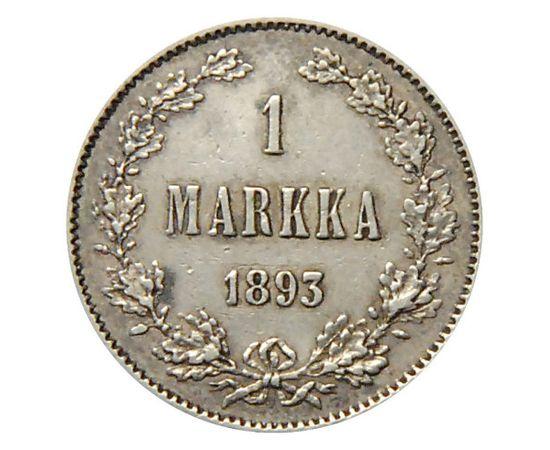 1 марка 1893 года Серебро, фото 2