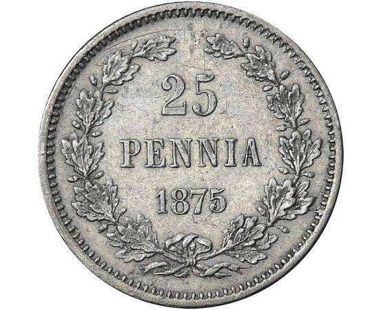 25 пенни 1875 года, фото 2