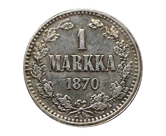 1 марка 1870 года, фото 2