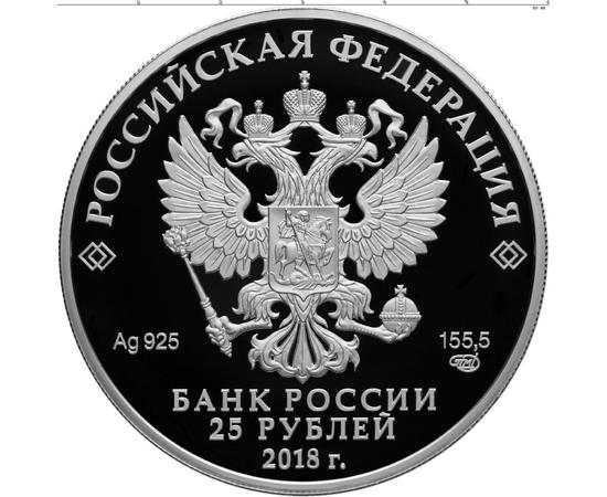 25 рублей 2018 300 лет полиции России, фото 2