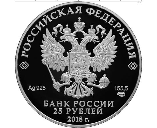 25 рублей 2018 200-летие со дня рождения И.С. Тургенева, фото 2
