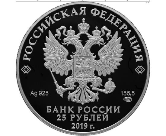 25 рублей 2019 Свято-Троицкий Макарьевский Желтоводский монастырь, Нижегородская обл., фото 2