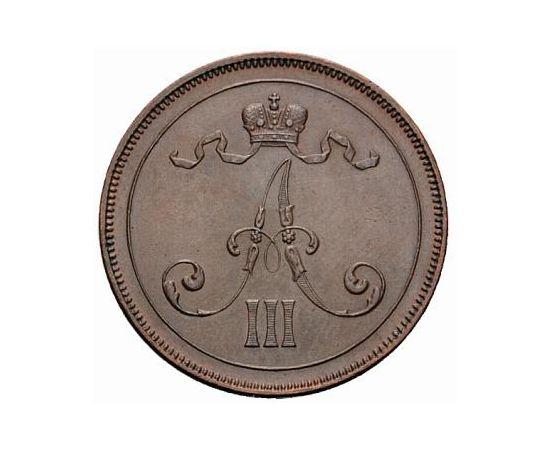 10 пенни 1889 года Медь, фото 1