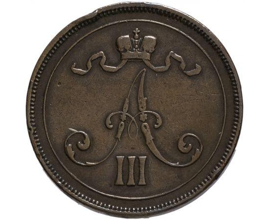 10 пенни 1890 года Медь, фото 1
