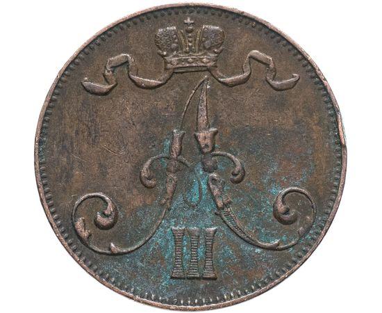 5 пенни 1892 года Медь, фото 1